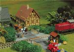 Faller 222172 N Scale Field Track Crossing - Epoch I